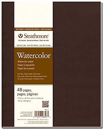 סקצ'בוק מהודר לצבעי מים A4 כריכה קשה Strathmore