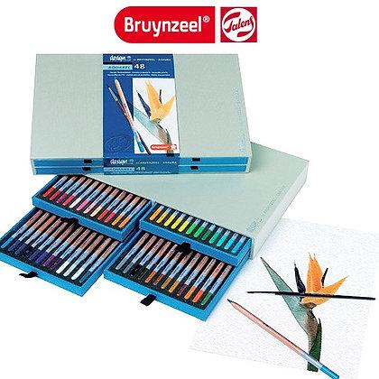 Bruyzeel סט 48 עפרונות אקוורל