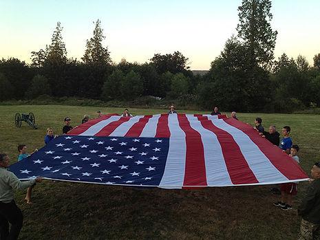 Unity of Effort American Flag