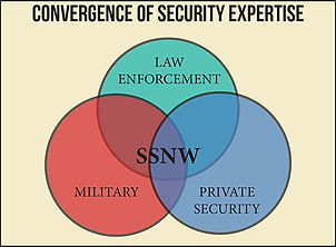 Graph of security guard experience