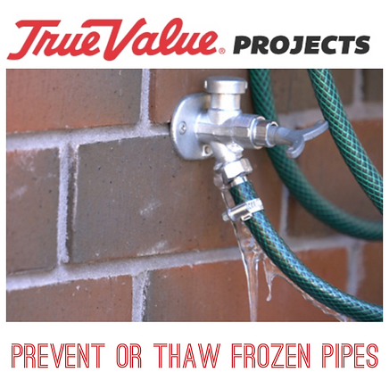 Prevent or thaw frozen pipes