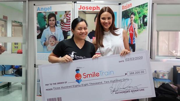 Catriona   Smile Train Philippines