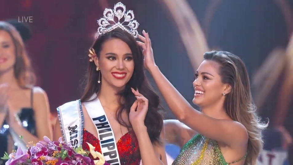 Miss Universe 2018 Crowning Moment