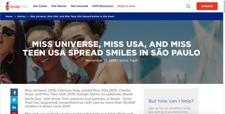 Smile Train in Brazil