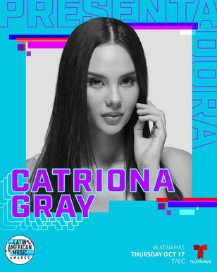 Official award presenter at the 2019 Latin American Musica Awards