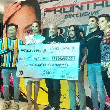 Front Row Cares donates to Young Focus Philippines
