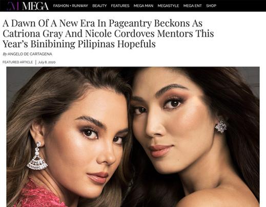 Catriona to Mentor Binibining Pilipinas Hopefulls