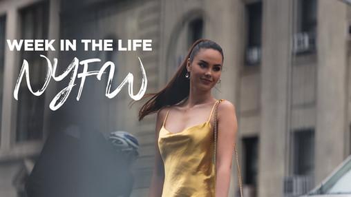 Catriona takes on NYFW