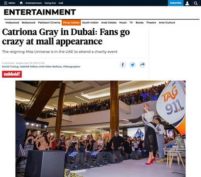 Catriona in DUBAI