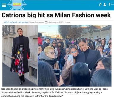 Catriona Milan FW