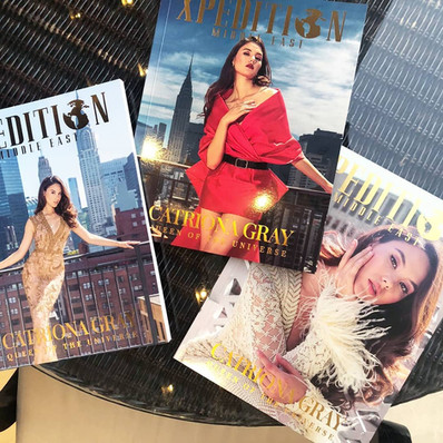 Special Edition 3-Cover Catriona for Xpedition Magazine DUBAI