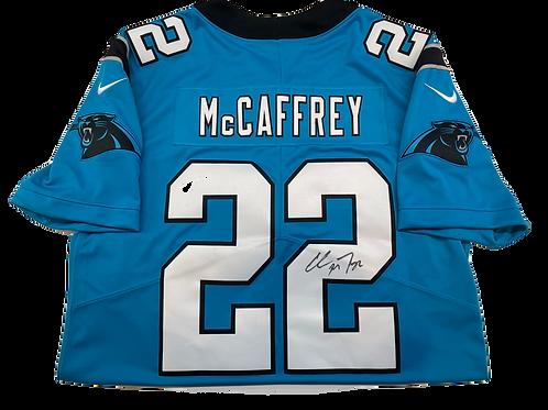 Authentic Christian McCaffrey Autographed Jersey Raffle