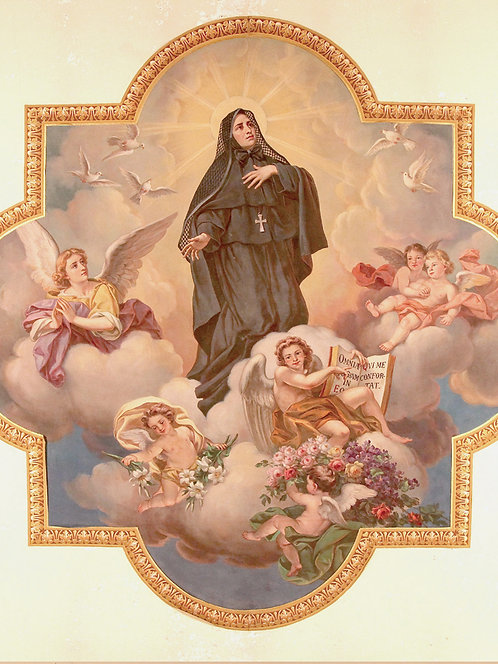Painting - Mother Cabrini