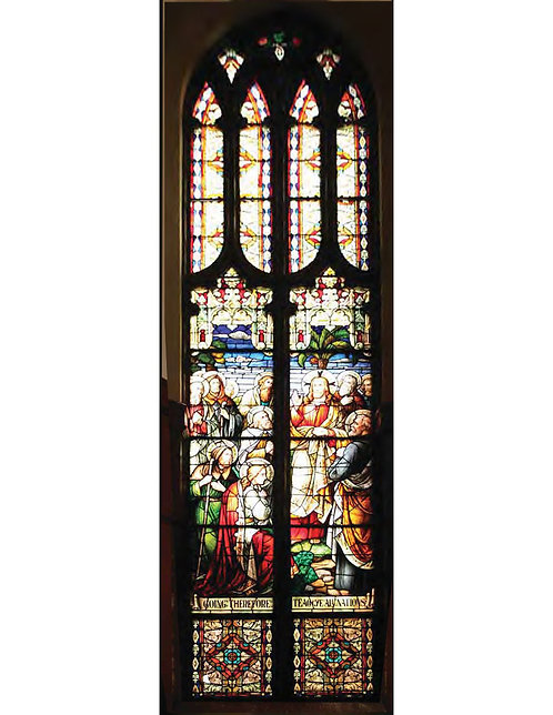 Stained Glass Windows - Scenes of the Life of Christ