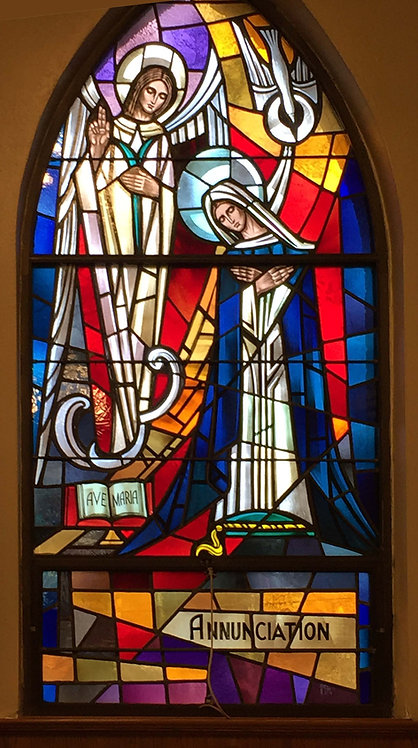 Stained Glass Windows - Life of Christ