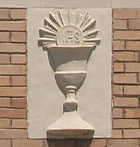 Bas Relief - Eucharist Symbol
