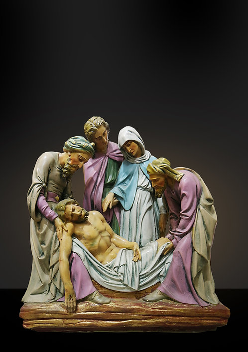 Stations of the Cross - Plaster