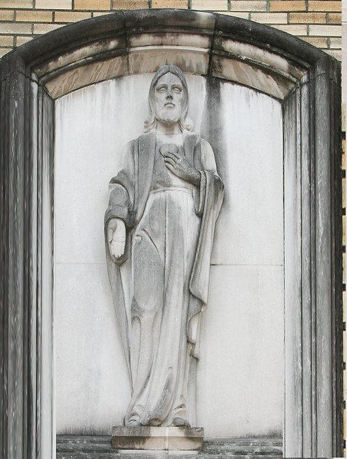 Bas Relief - Sacred Heart