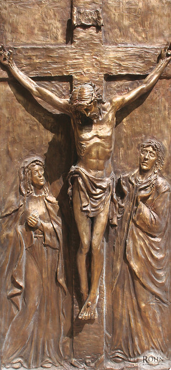 Stations of the Cross Set - Bronze