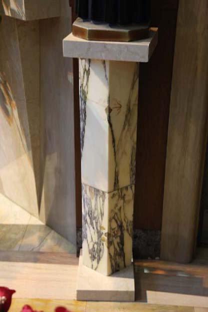 Pedestal for St. Elizabeth Seton Statue