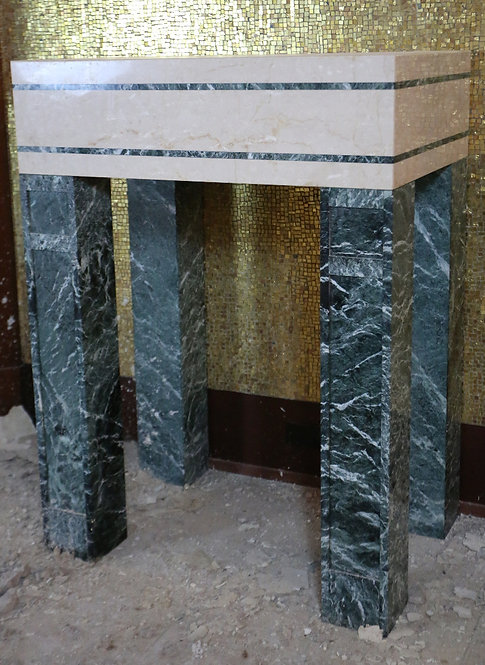 Ambry Table - Marble