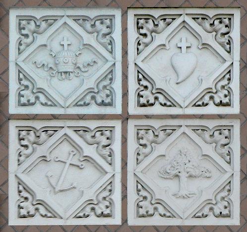 Bas Reliefs - Exterior