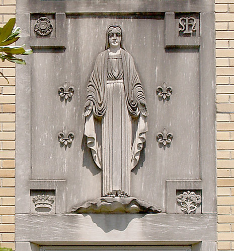 Bas Relief - Blessed Mother
