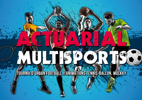 Actuelia participe à l'Actuarial Multisports 2016