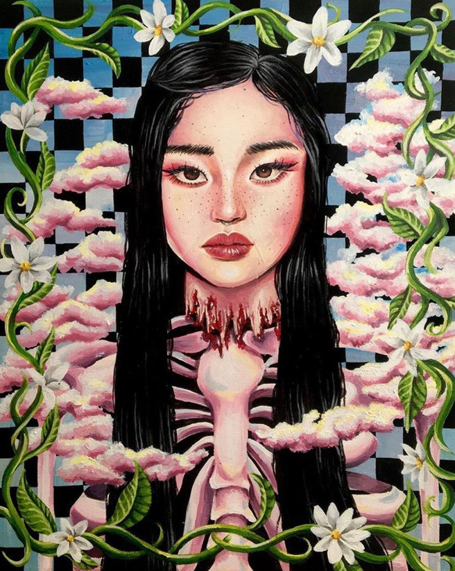 GIRL OF THE FLOWERS