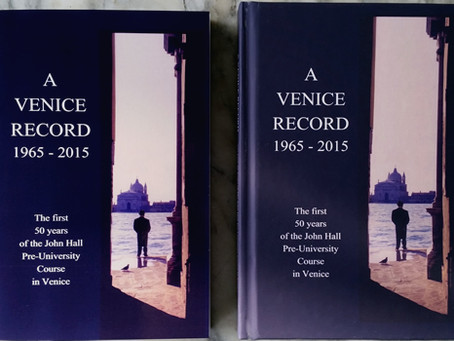 A Venice Record 1965 - 2020, The Book Updated