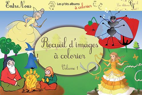 Recueil d'images à colorier, volume 1