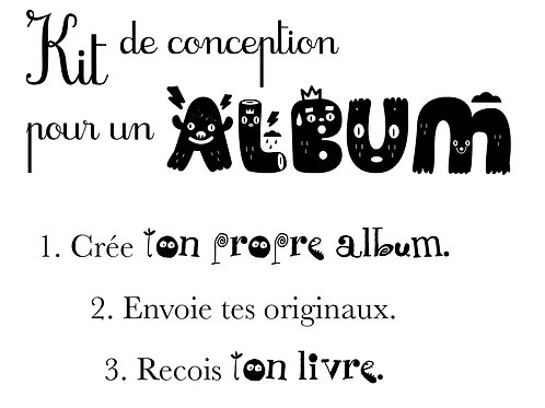 Kit de conception d'Album