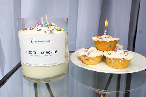 Lick the Icing Off - Birthday Cake