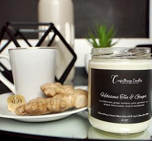 Hibiscus Tea & Ginger