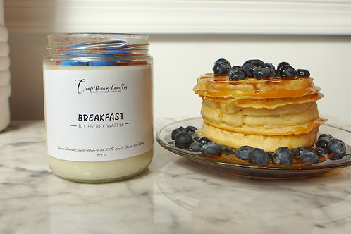 Breakfast - Blueberry Waffle