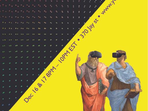 Visual Language – 2020 ITP Winter Show Poster Design