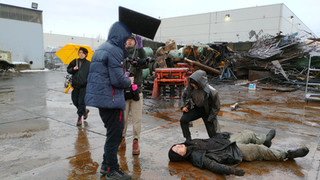 """On Set of """"Remember me"""""""
