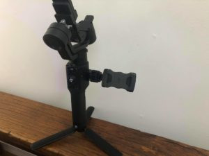 stabilizer with phone holder