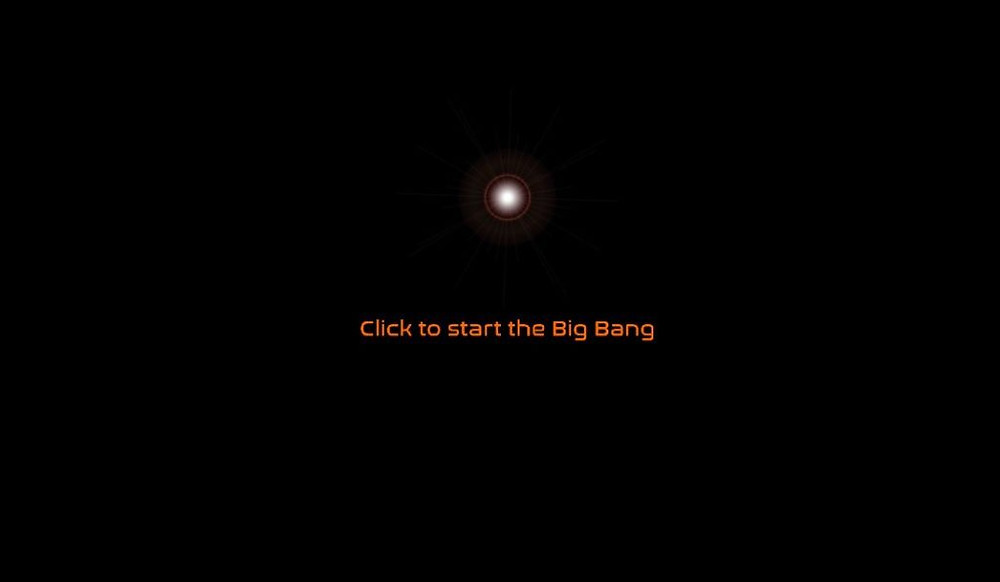 click to start the big bang