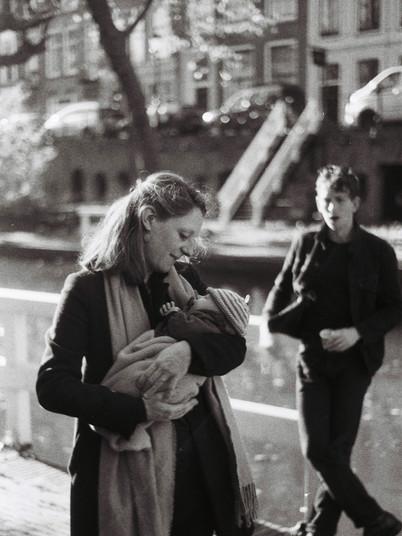Sarah, Lucas en Wolf