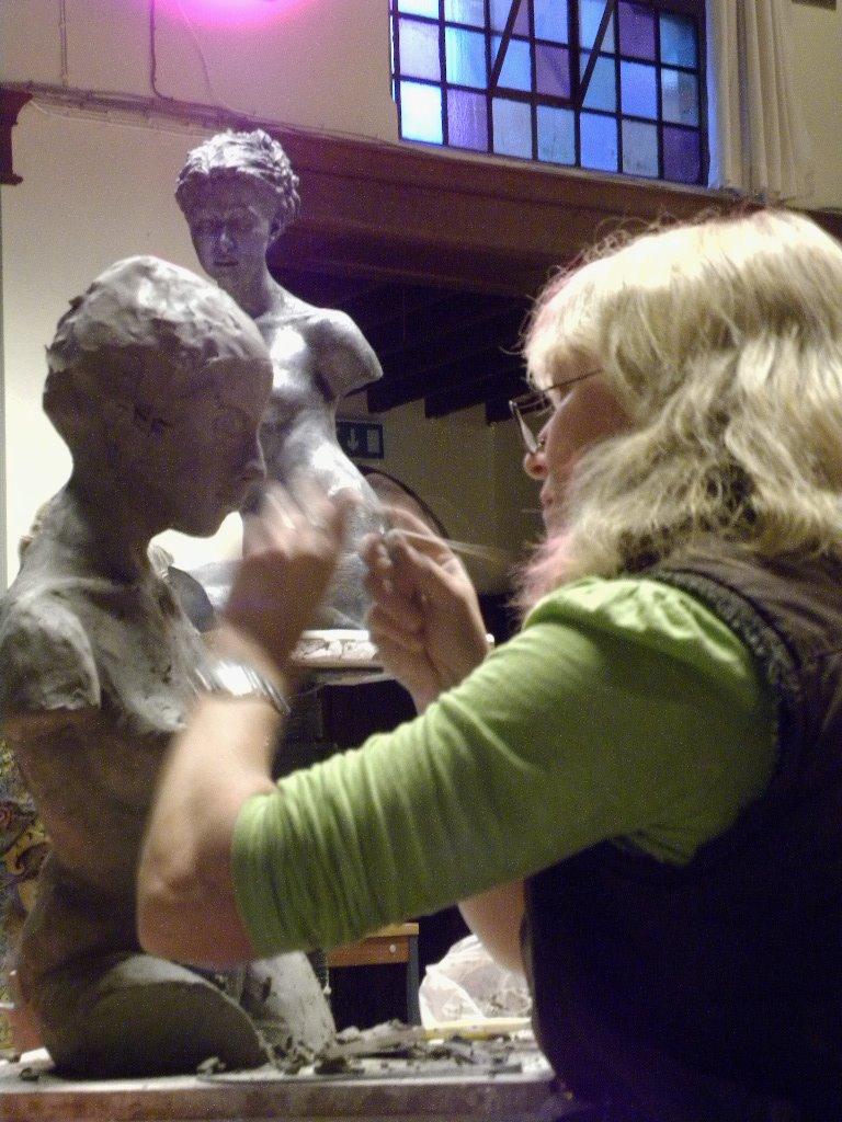 Sculpture lesson