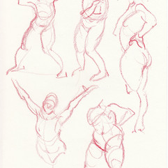 Life drawing session at Wooga