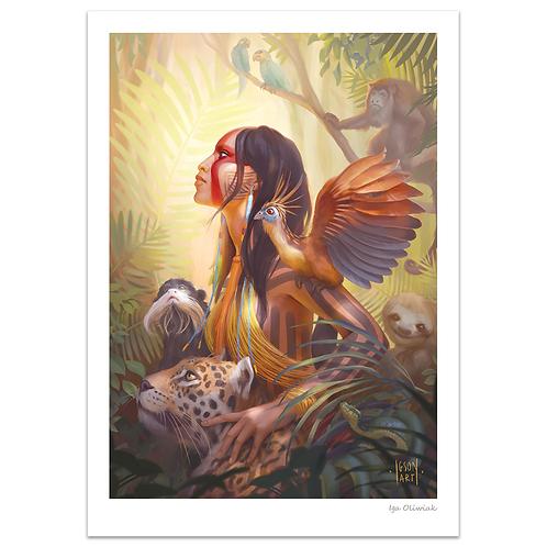 Kayapo Amazon Print