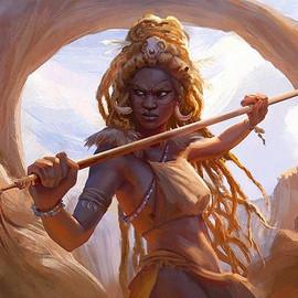 Lionblood Huntress