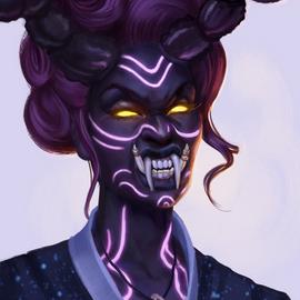 Baroness Portrait