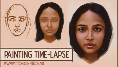 Indian Woman Portrait