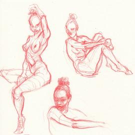 Life drawing at Wooga