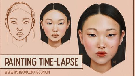Korean Woman Portrait