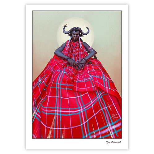 Swala Buffalo Print