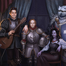 DnD Group Portrait